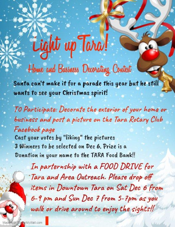 Home and Business Decorating Contest